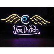 ネオンサイン【von dutch flying eye ball】ヴォンダッチ フライングアイボール