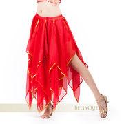 激安☆ベリーダンス衣装◆ステージスカート◆コスチューム◆シフォン◆練習着◆レッスンウエア