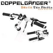 【メーカー直送】 DHB086-SL ドッペルギャンガー フォールディングハンドルバー シルバー