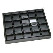ディスプレイ用品: イヤリングホルダー 黒 e-h-51