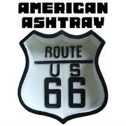 AMERICAN ASHTRAY ROUTE66 �y�D�M �A�����J�� ���[�g66�z