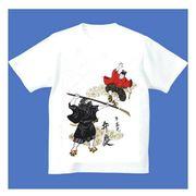 FJK 日本 お土産 Tシャツ 浮世絵 Sサイズ (ホワイト)No.13-S