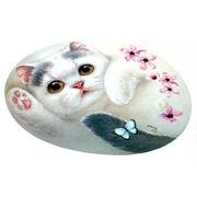 【HenryCats&Friends】シェイプド・ランチョンマット 8種 猫 ねこ ネコ 犬 イヌ 雑貨 キッチン テーブル