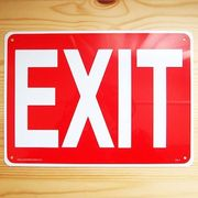 �Ŕ�/�v���X�`�b�N�T�C���{�[�h �o�� Exit CA-01