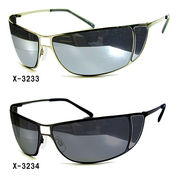 メタルフレームサングラス(UVカット)X-3233・X-3234・X-3235【HF】