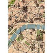LETTERBOX A6ノート エッフェル塔×地図