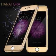 ��iPhone6/6Plus HANATORA �Ȗʂ܂őS�ʕی�t�B���� �����K���X3D�A���~�J�o�[