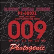 PhotoGenic フォトジェニック エレキギター弦 PE-600XL エクストラライト 009-042