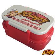 Mr.Hungry(ミスターハングリー)ランチアイテム【ランチボックス 2段】お弁当箱