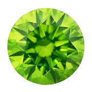 カラーダイヤモンド ブリリアントカット ルース ペリドットグリーン/約1.0-3.3mm