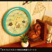 プルメリア壁掛け時計【型番号mt913-1】