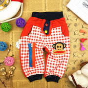 スウェットパンツ/ジュリアス猿チェック90cm~120cm全3色 春夏韓国子供服
