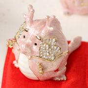 宝石箱 ジュエリーボックス 十二支 干支 【たつ・辰】