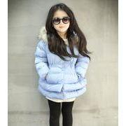 女の子 中綿 ダウンコート 可愛い 100cm-140cm