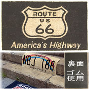 ���R�R�i�c���փ}�b�g���R�C���[�}�b�g���yCOIR MAT�z���[�g�U�U�u���b�N��Americas Highway  Route66��