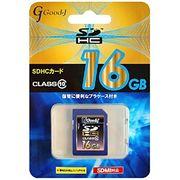 Good-J SDHCメモリーカード 16GB Class10 G-SDHC16-C10