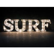 AMERICAN SIGN WITH LIGHT 「SURF」