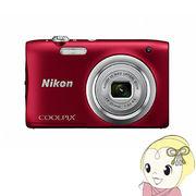 ニコン デジタルカメラ COOLPIX A100 [レッド]