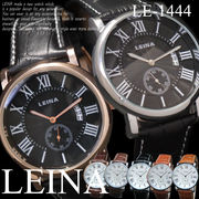 【選べるケース有or無♪】◇腕時計  日付機能付き ローマ数字 ウォッチ◇LE-1444