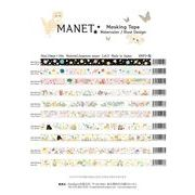 MANET Masking tape �}�l�b�g�@�}�X�L���O�e�[�v 15mm�~10m vol1