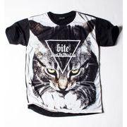 Ryll サブリメーション プリントTシャツ 猫 CAT