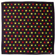バンダナ 星柄 カラフルスター