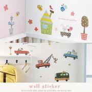 【手作り雑貨】wall sticker ウォールステッカー (SS) ◆シール/デコ壁