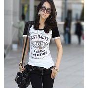 【即納】ヘビロテ確実☆定番ラグランプリントTシャツ全3色★ghx106-a231【自社工場生産】