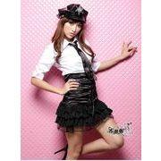 ステージ衣装 婦警 女警官 警察 コスプレ コスチューム ハロウィン仮装 bwn0044-1