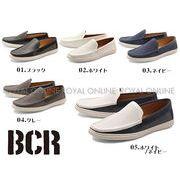 25%OFF!【BCR】 BC-703 メッシュ ローファー 全5色 メンズ