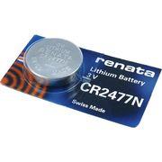 RENATA CR2477N 0%Mercury / 電子機器、カーリモコンキーレス、ガイガーカウンター、環境測定機器