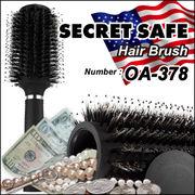隠し金庫 ヘアブラシ 『SECRET SAFE シークレットセーフ』 (OA-378)