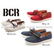 25%OFF!【BCR】 BC-438 メッシュ キャンバ スデッキ シューズ 全3色 メンズ