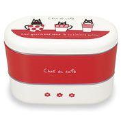 オーバルネストランチ chat du caf?
