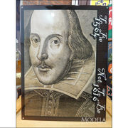 アメリカンブリキ看板 シェイクスピア 1564-1616