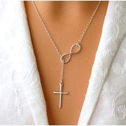 十字架★優雅な感じ ネックレス 韓国風★レディース ネックレス★ファッションのデザイン★