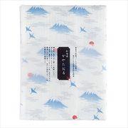 プレーリードッグ 日本製 和布華ふきん 富士山と鶴 TYF-832