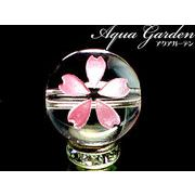 桜の花言葉は『高貴、優れた美人』☆ピンク彫サクラ水晶 8ミリ→12ミリ 10玉セット&1玉売り