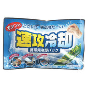 瞬間冷却保冷剤・ 速攻冷却(クーラーボックスにも) /日本製