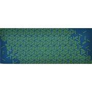 加藤萬 和雑貨 祝い文 手拭い 籠目つなぎ 常盤緑 35×90cm