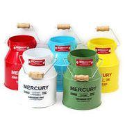 【MERCURY】 マーキュリー・ミルク缶mini