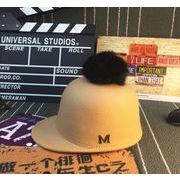 新入荷!!★人気帽子★韓国風男女兼用ファション帽子★秋冬に最適