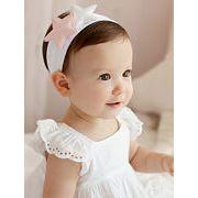 ★赤ちゃん ヘアアクセサリー★ヘアバンド 星柄赤ちゃんの髪飾り