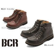 【BCR】 BC-782 インサイドジップ トレッキングブーツ 全2色 メンズ