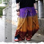 刺繍バタフライパンツ【型番号7-5tg23-4a】