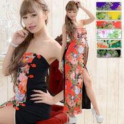 1010足魅せパワーネットロングチャイナドレス 衣装 コスプレ キャバドレス ハロウィン