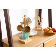 【直送可】【送料無料】【キッチン】木製マグカップツリー ボヌールシリーズ
