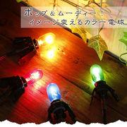 カラーナツメ球(10w)【型番号color-denkyu】