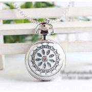 ■懐中時計■   ホワイト ブラック 時計
