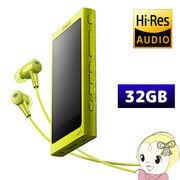 [予約]NW-A36HN-Y ソニー ウォークマン Aシリーズ [メモリータイプ]  ライムイエロー 32GB